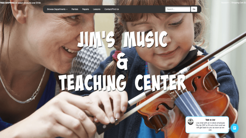 jims music and teching center