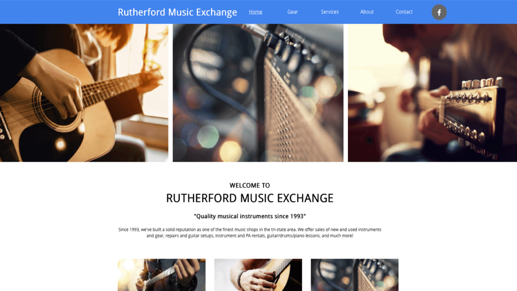 rutherford music exchange